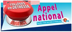 Appel national : Urgence collèges en détresse