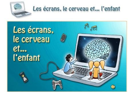cerveau écrans